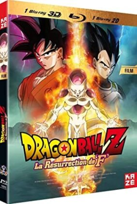 "Dragonball Z - La Résurrection de ""F"" - Le film (Limited Edition, Steelbook, Blu-ray + DVD)"