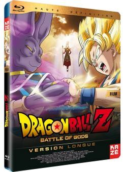 Dragonball Z - Battle of Gods - Le film (Édition Limitée, Steelbook, Blu-ray + DVD)