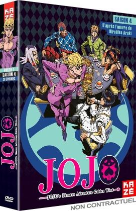 JoJo's Bizarre Adventure - Saison 4 - Partie 1 : Golden Wind (6 DVDs)