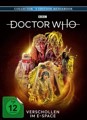 Doctor Who - Vierter Doktor - Verschollen im E-Space (Limited Collector's Edition, Mediabook, Blu-ray + 2 DVDs)