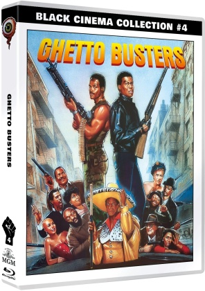 Ghetto Busters (1988) (Black Cinema Collection, Limited Edition, Blu-ray + DVD)