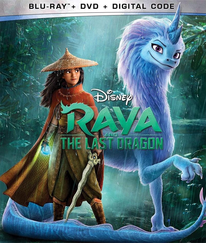 Raya And The Last Dragon (2021) (Blu-ray + DVD)