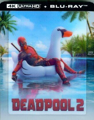 Deadpool 2 (2018) (Lenticular, Limited Edition, Steelbook, 4K Ultra HD + Blu-ray)