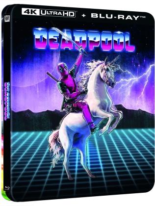 Deadpool (2016) (Lenticular, Limited Edition, Steelbook, 4K Ultra HD + Blu-ray)
