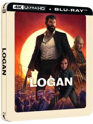 Logan (2017) (Lenticular, Limited Edition, Steelbook, 4K Ultra HD + Blu-ray)