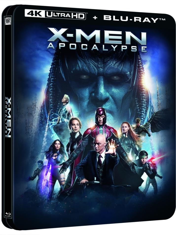 X-Men: Apocalypse (2016) (Lenticular, Limited Edition, Steelbook, 4K Ultra HD + Blu-ray)