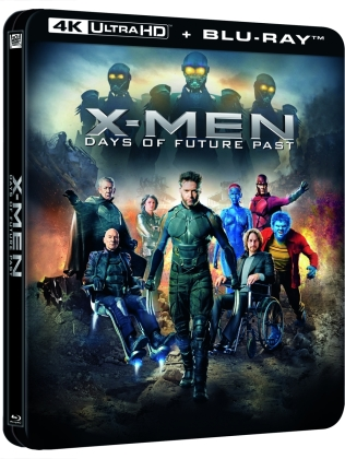 X-Men: Days of Future Past (2014) (Lenticular, Limited Edition, Steelbook, 4K Ultra HD + Blu-ray)