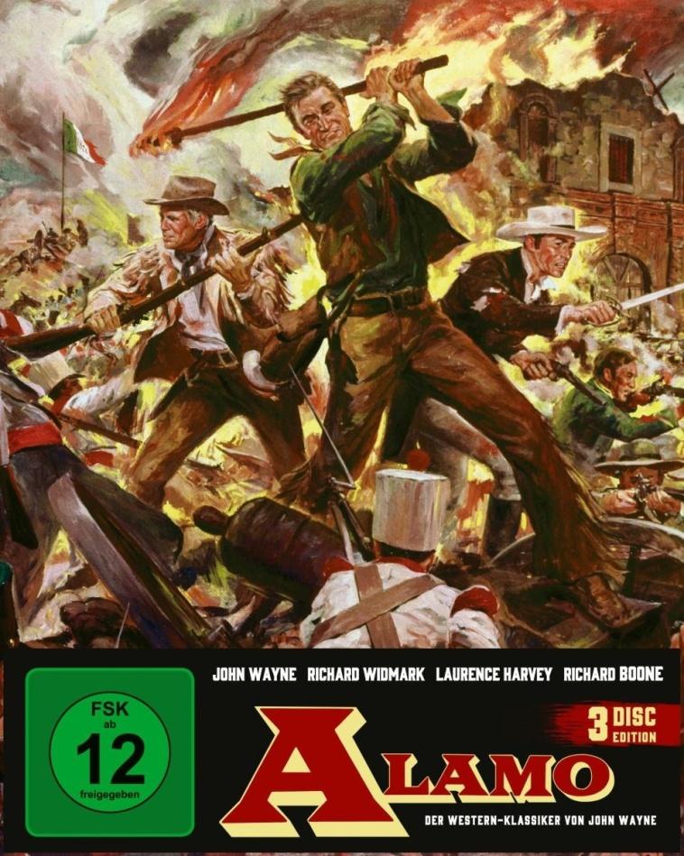 Alamo (1960) (Edizione Limitata, Mediabook, 2 Blu-ray + DVD)