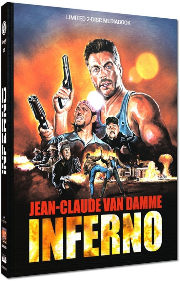 Inferno (1999) (Cover D, Limited Cinestrange Extreme Edition, Mediabook, Uncut, Blu-ray + DVD)