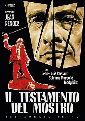 Il testamento del mostro (1959) (Horror d'Essai, Restaurato in HD, n/b, Riedizione)