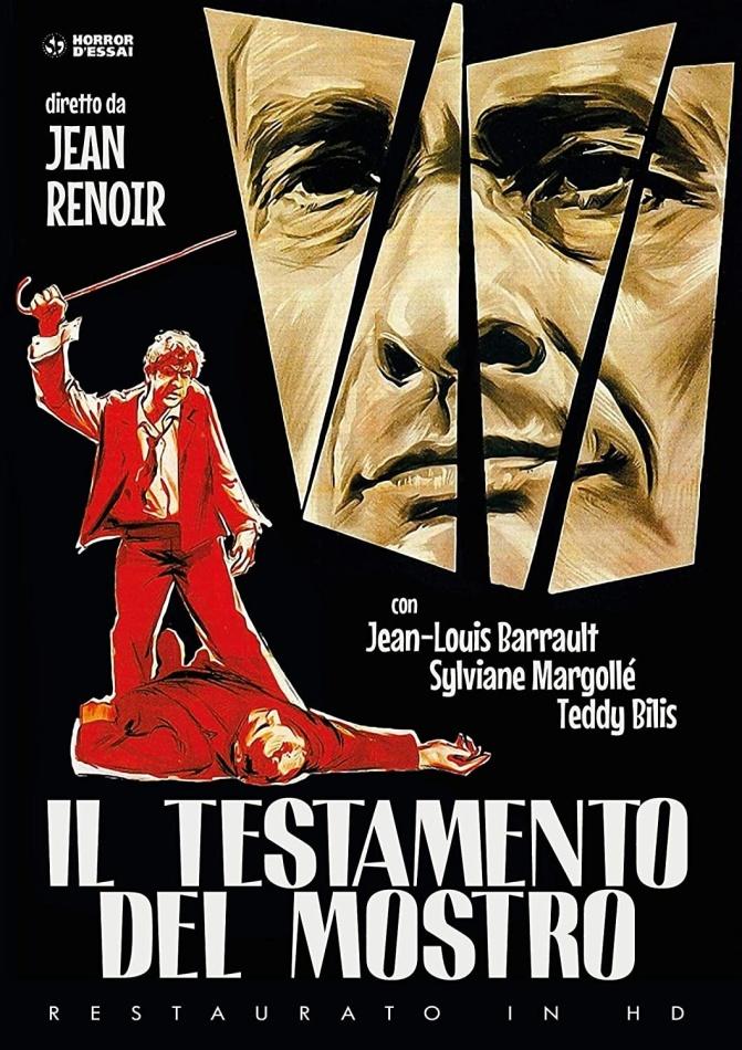 Il testamento del mostro (1959) (Horror d'Essai, restaurato in HD, s/w, Neuauflage)
