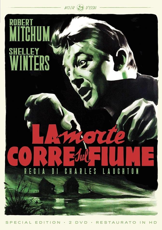 La morte corre sul fiume (1955) (Noir d'Essai, restaurato in HD, s/w, Special Edition, 2 DVDs)