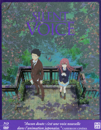 Silent Voice (2016) (Limited Edition, Steelbook, Blu-ray + DVD)