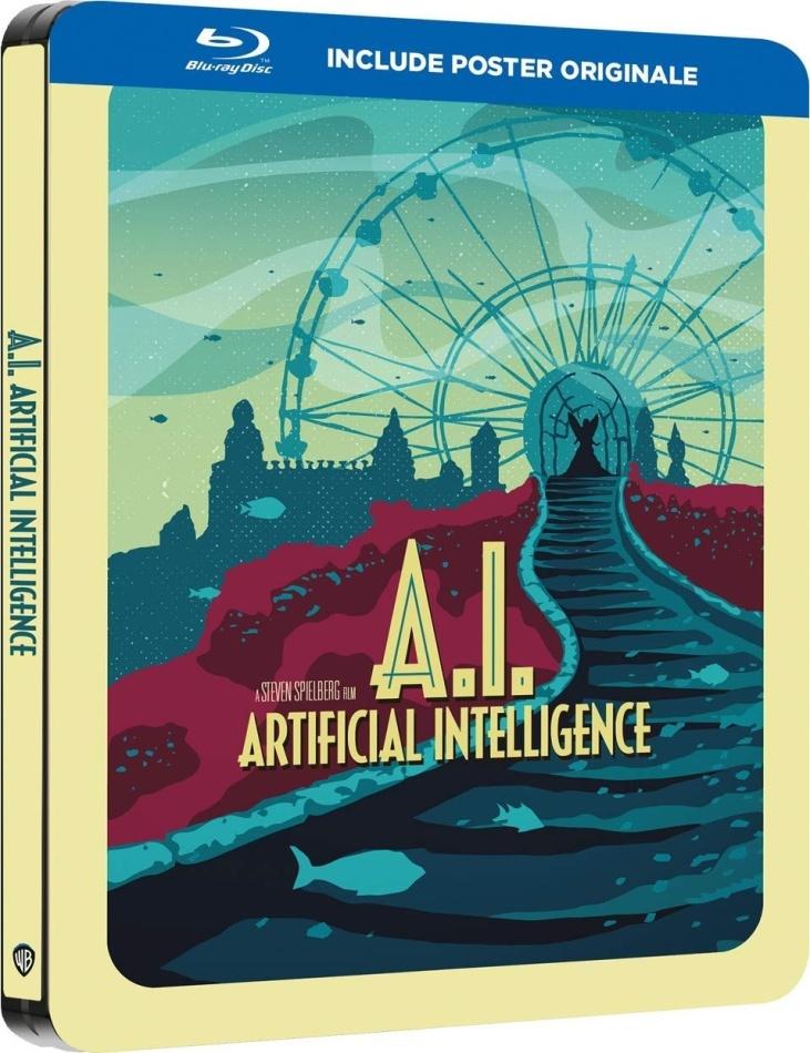A.I. - Intelligenza Artificiale (2001) (Steelbook)