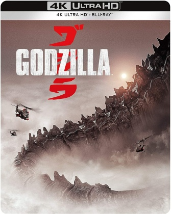 Godzilla (2014) (Steelbook, 4K Ultra HD + Blu-ray)