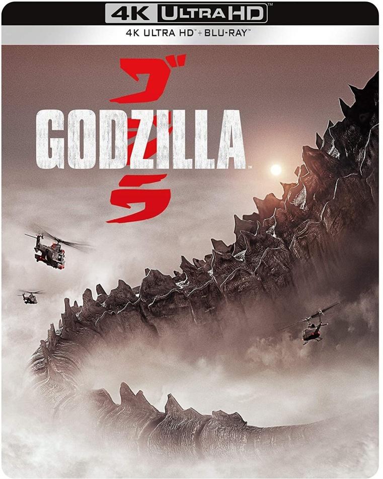 Godzilla (2014) (Steelbook, 4K Ultra HD + Blu-ray)