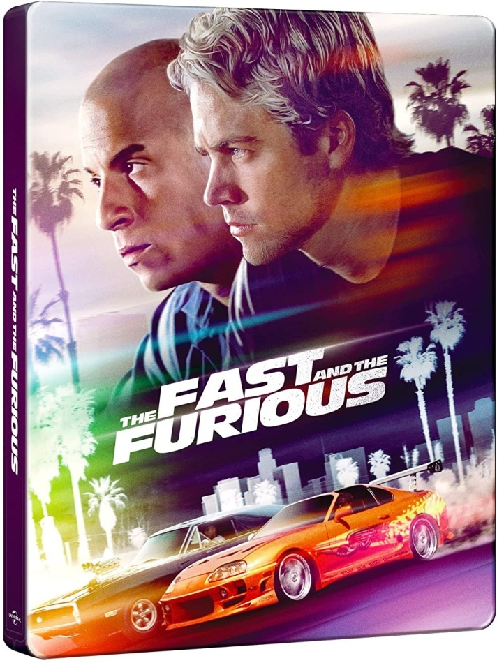 The Fast and Furious (2001) (20th Anniversary Edition, Steelbook, 4K Ultra HD + Blu-ray)