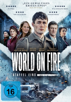 World On Fire - Staffel 1 (3 DVDs)
