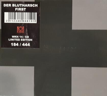 Der Blutharsch - First (limited Deluxe, 2021 Reissue, Digipack)
