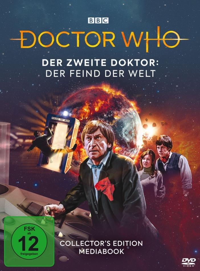 Doctor Who - Der Zweite Doktor: Der Feind der Welt (Collector's Edition, Mediabook, 2 DVDs)