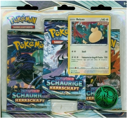 Pokémon (Sammelkartenspiel) - PKM SWSH06 3-Pack Blister DE