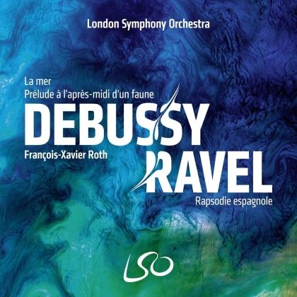 Claude Debussy (1862-1918), Maurice Ravel (1875-1937) & London Symphony Orchestra - La Mer/Prélude à L'Après-Midi d'une Faune/Rapsodie (SACD)
