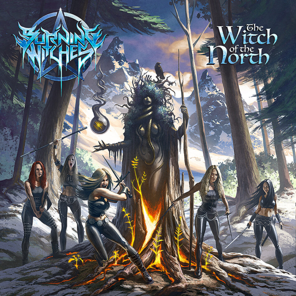Burning Witches - The Witch Of The North (Digipack)