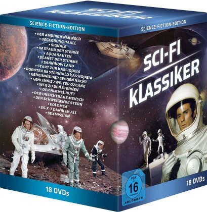 Sci-Fi-Klassiker - 18 Filme (18 DVDs)