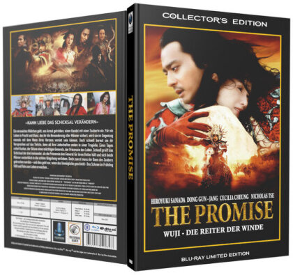 The Promise - Wu Ji - Die Reiter der Winde (2005) (Grosse Hartbox, Limited Collector's Edition)