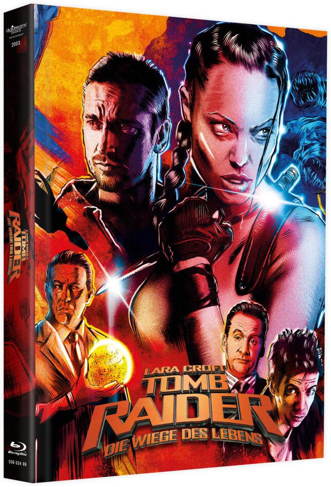 Lara Croft: Tomb Raider - Die Wiege des Lebens (2003) (Cover B, Limited Edition, Mediabook, Blu-ray + DVD)