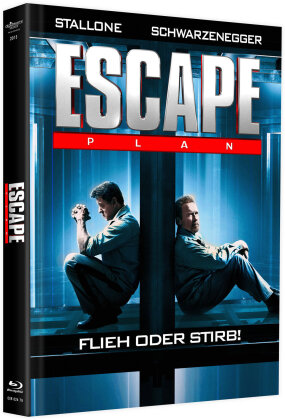 Escape Plan (2013) (Cover A, Limited Edition, Mediabook, Blu-ray + DVD)