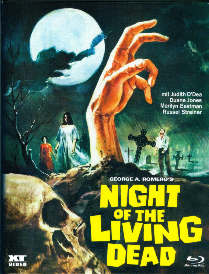 Night of the Living Dead (1968) (Kleine Hartbox, s/w, Limited Edition)