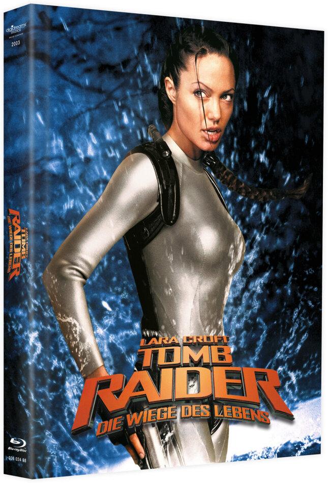 Lara Croft: Tomb Raider - Die Wiege des Lebens (2003) (Cover A, Limited Edition, Mediabook, Blu-ray + DVD)
