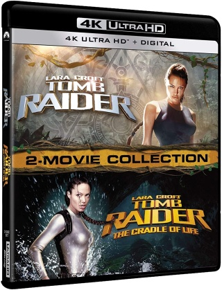 Lara Croft: Tomb Raider 1+2 - 2-Movie Collection (2 4K Ultra HDs)