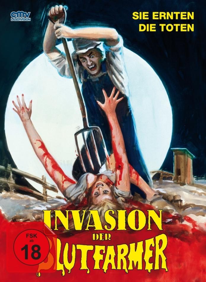 Invasion der Blutfarmer (1972) (Cover A, Limited Edition, Mediabook, Blu-ray + DVD)