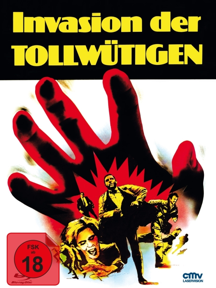 Invasion der Blutfarmer (1972) (Cover B, Limited Edition, Mediabook, Blu-ray + DVD)