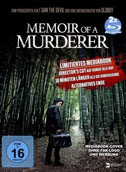 Memoir of a Murderer (2017) (Kinofassung, Director's Cut, Edizione Limitata, Mediabook, 2 Blu-ray)