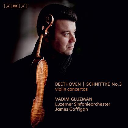 Ludwig van Beethoven (1770-1827), Alfred Schnittke (1934-1998), James Gaffigan & Vadim Gluzman - Violin Concertos