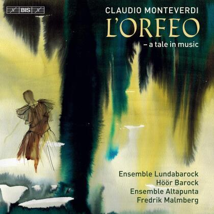 Ensemble Lundabarock, Höör Barock, Ensemble Altapunto, Claudio Monteverdi (1567-1643), Fredrik Malmberg, … - L'orfeo (Hybrid SACD)