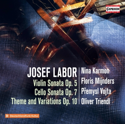 Oliver Triendl, Josef Labor (1842-1924), Premysl Vojta, Nina Karmon & Floris Mijnders - Violin Sonata Op. 5, Cello Sonata Op. 7 - Theme And Variations Op. 10