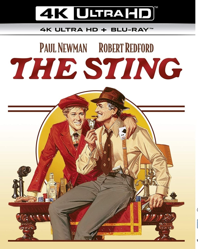 The Sting (1973) (4K Ultra HD + Blu-ray)