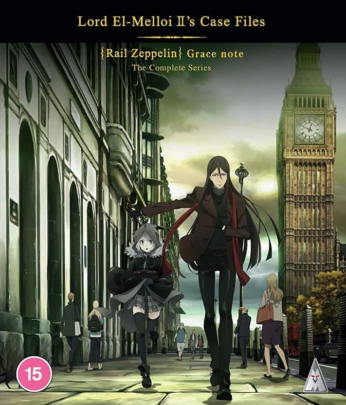 Lord El-Melloi II's Case Files - Rail Zeppelin Grace Note - The Complete Series (2 Blu-rays)