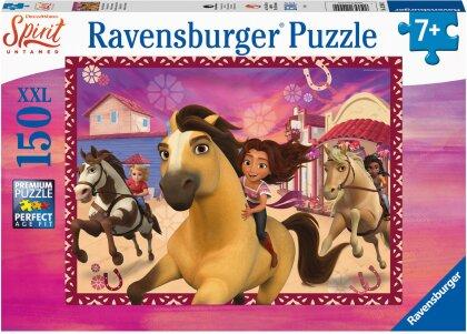 Ravensburger Kinderpuzzle 12994 - Freunde fürs Leben 150 Teile XXL - Spirit Puzzle für Kinder ab 7 Jahren