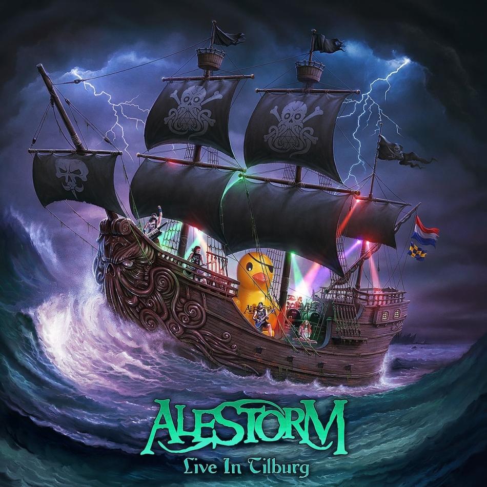 Alestorm - Live In Tilburg (Mediabook, CD + DVD + Blu-ray)