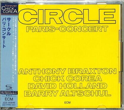Circle - Paris Concert (Japan Edition, 2 CDs)