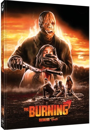The Burning - Brennende Rache (1981) (Cover D, Limited Edition, Mediabook, Blu-ray + DVD)