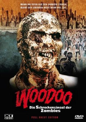 Woodoo - Die Schreckensinsel der Zombies (1979) (Cover B, Kleine Hartbox, Uncut)
