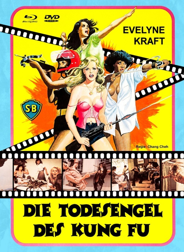 Die Todesengel des Kung (1977) (Grosse Hartbox, Cover B, Limited Edition, Blu-ray + DVD)