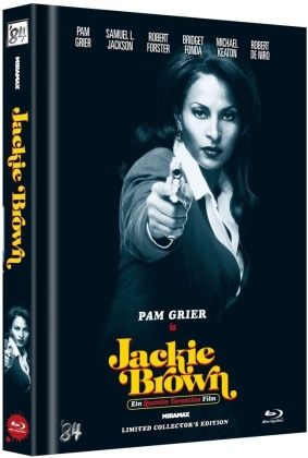 Jackie Brown (1997) (Cover D, Limited Collector's Edition, Mediabook)
