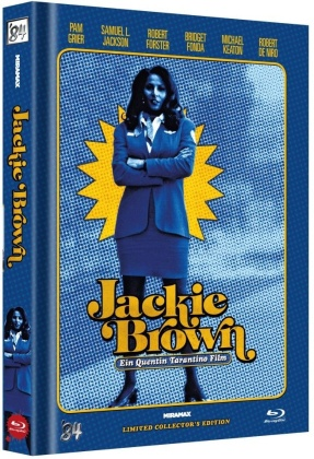 Jackie Brown (1997) (Cover E, Limited Collector's Edition, Mediabook)